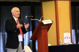 Dr Gardner_Murray_in_Mexico_at_Conference_October_2011