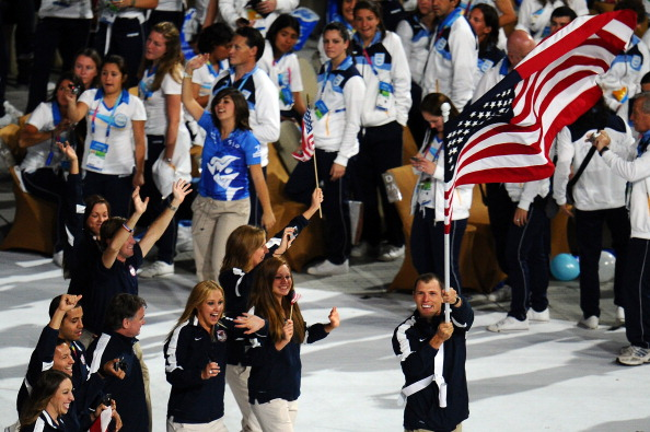 US team_march_at_Pan_Am_Games_October_2011
