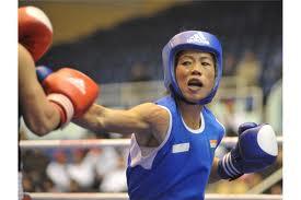 Mary Kom_boxing