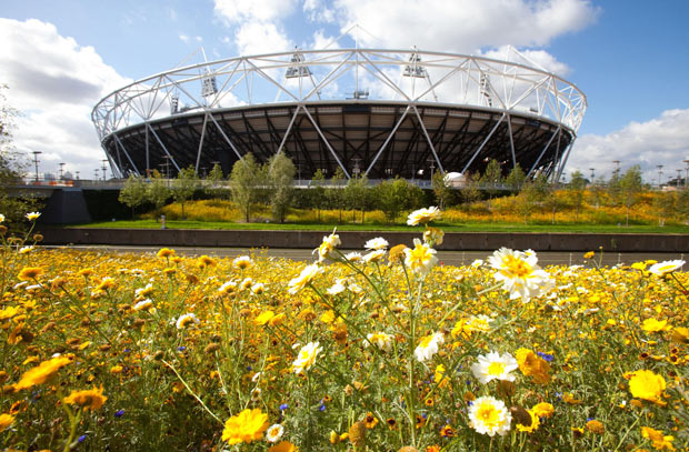 Olympic Park_with_flowers_September_2011