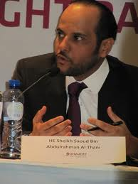 Sheikh Saoud_Bin_Abdulrahman_Al_Thani_in_Brussels