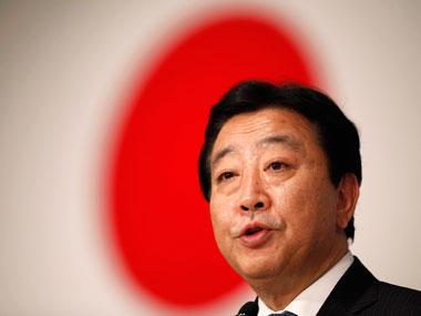 Yoshihiko Noda_in_front_of_Japanese_flag