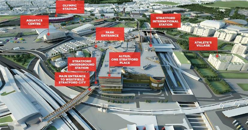 Westfield Stratford City unveils premium hospitality lounge for London 2012 - Westfield Stratford Floor Plan