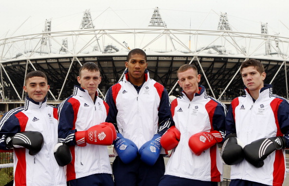 Andrew Selby_Fred_Evans_Anthony_Joshua_Tom_Stalker_and_Luke_Campbell_02-12-11