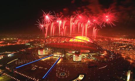 Doha fireworks_Olympics