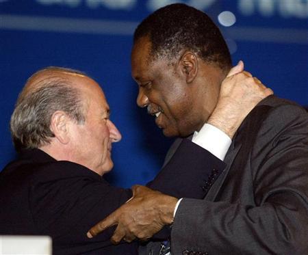 Issa Hayatou_and_Sepp_Blatter