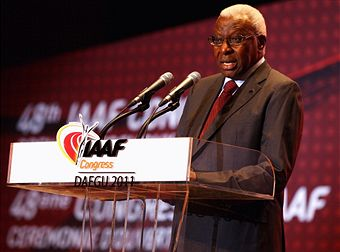 Lamine Diack_at_IAAF_Congress_Daegu_August_23_2011