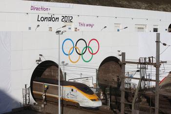 Olympic rings_eurostar