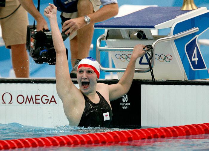 Rebecca Adlington_celerbates_Olympic_gold_medal_Beijing_2008