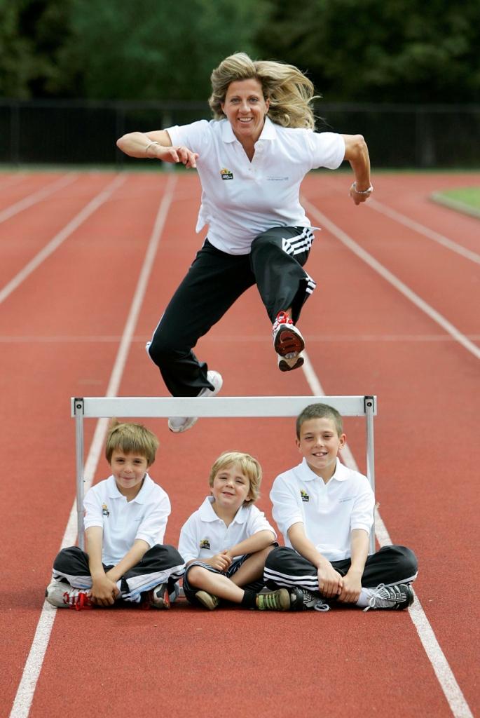 Sally GUnnell_jumping_over_hurdles