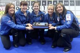 Scotland women_celebrate_winning_European_Curling_Championships_December_10_2011