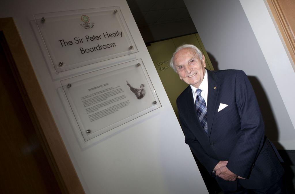 Sir Peter_Heatly_opening