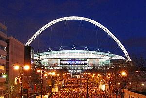 Wembley Stadium_illuminated
