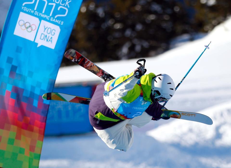 Elisabeth Gram_during_competition_Innsbruck_15_2012