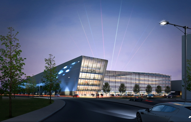 ICity innovation Park MPC and IBC post Londo 2012