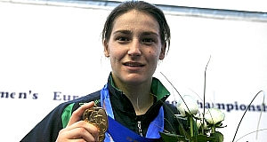 Katie Taylor_with_European_medal1