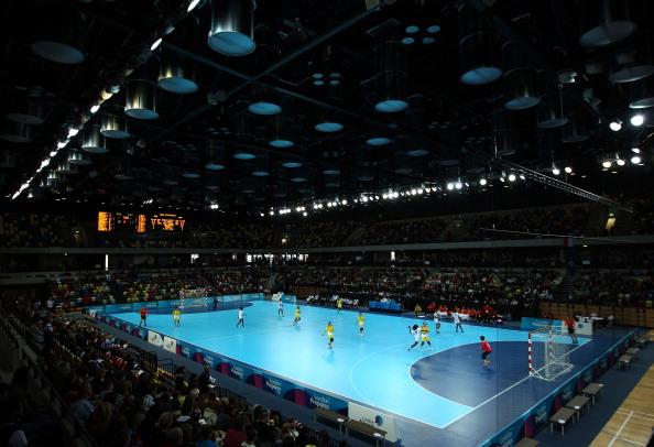 London 2012_Handball_arena_in_action_November_27_2011