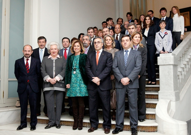 Madrid 2020_Olympic_team_after_meeting_Government_January_2012