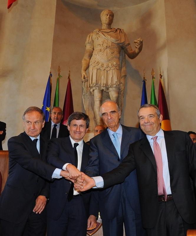 Mario Pescante_and_Rome_bid_in_Italian_Parliament