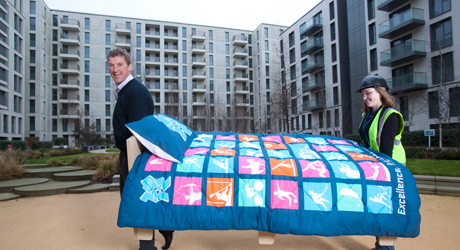 Olympic Village_with_Matthew_Pinsent