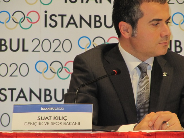 Suat Kilic_at_launch_of_Istanbul_2020_August_2011
