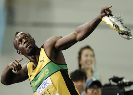 Usain Bolt_doing_pose_in_Daegu