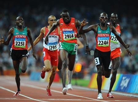 Wilfred Bungei_wins_the_800m_in_Beijing_2008
