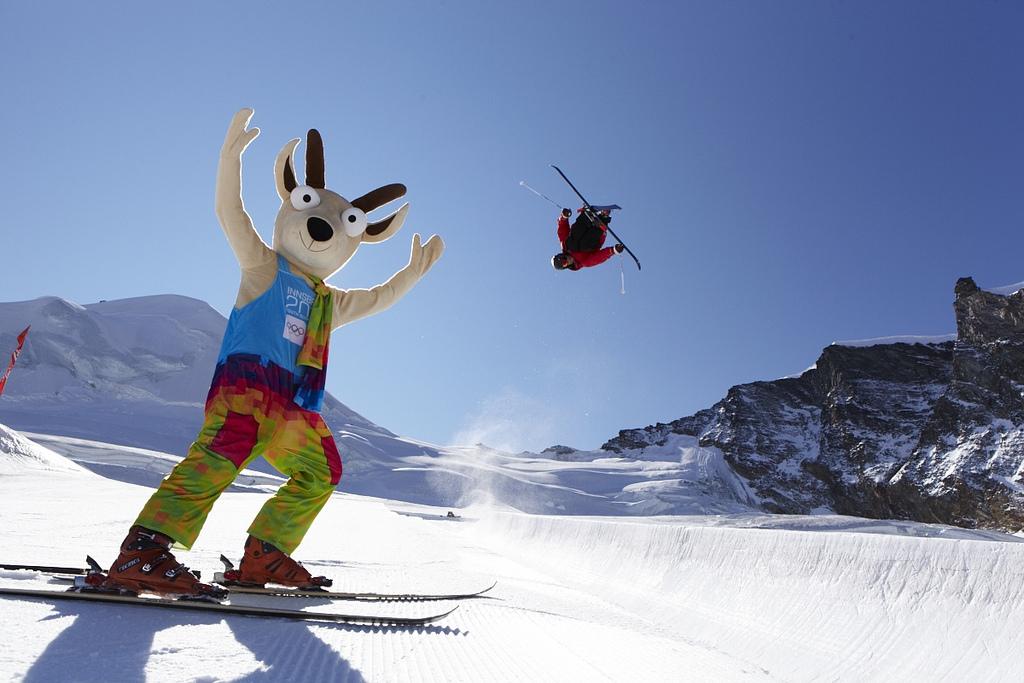 Yoggl on_ski_slope