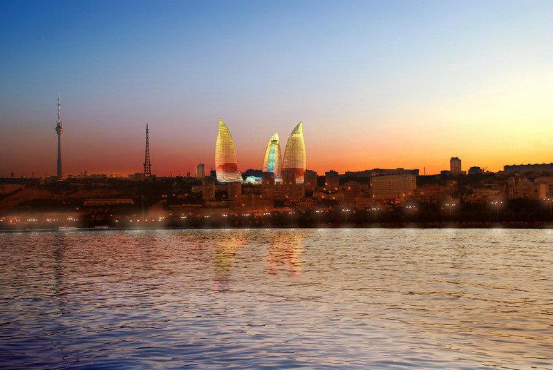 Baku with_flame_towers