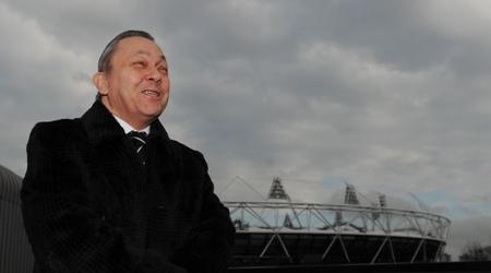 David Sullivan_in_front_of_Olympic_Stadium_February_11_2011