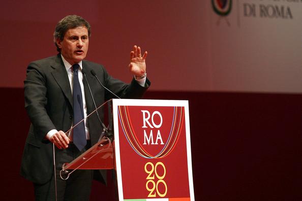 Gianni Alemanno_behind_Rome_2020_logo