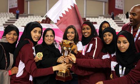 Qatar sportswomen