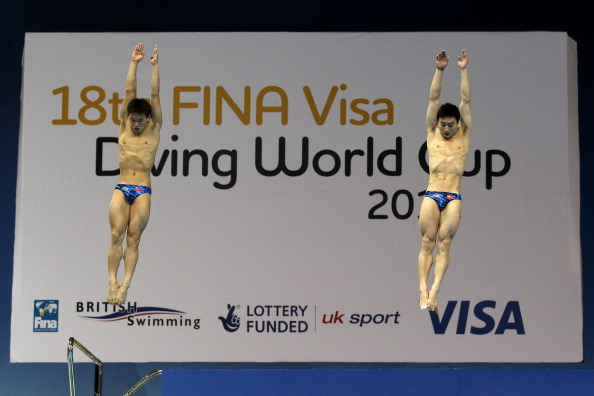 Qin Kai_and_Luo_Yutong_diving_London_2012_Test_Event_February_20_2012