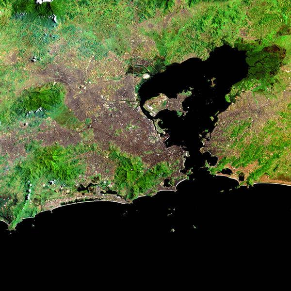 Guanabara Bay_map
