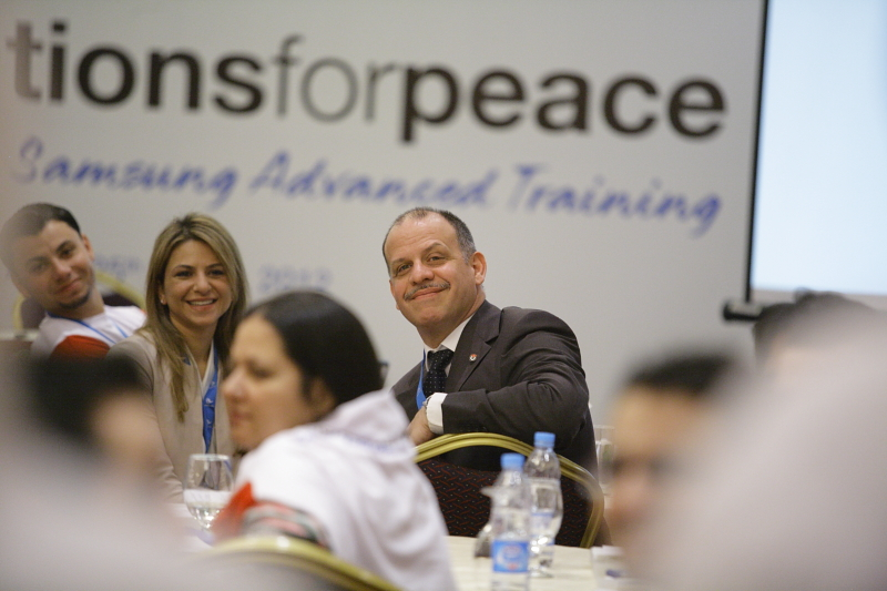 HRH Prince_Feisal_Al_Hussein_Opens_First_Ever_Advanced_Training_For_Generations_For_Peace_Pioneers_jpg