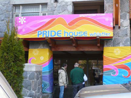 Pride House_Whistler