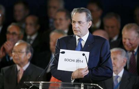 Sochi awarded_2014_Winter_Olympics