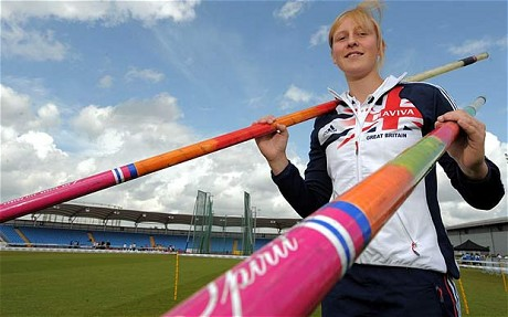 Holly Bleasdale_posing_with_poles