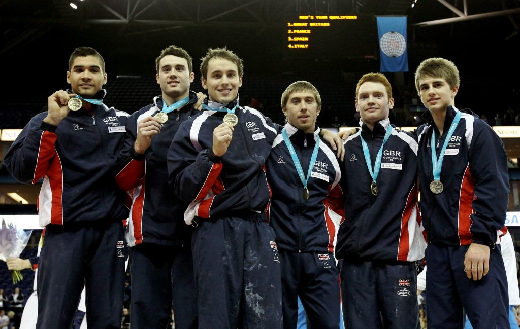 Louis Smith_Kristian_Thomas_Daniel_Keatings_Ruslan_Panteleymonov_Daniel_Purvis_and_Max_Whitlock_19-04-12