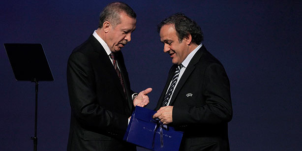 Michel Platini_with_Turkish_PM_March_2012