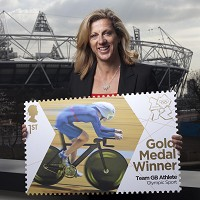 Sally Gunnell_with_London_2012_gold__medal_winner_stamps_April_10