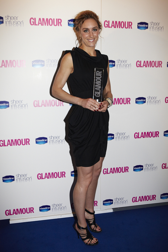 Amy Williams_wins_Glamour_Sportswoman_of_the_Year_award