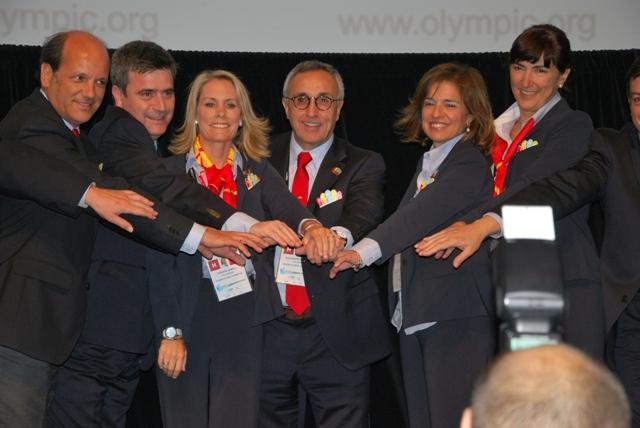 Madrid 2020_celebrate_making_short_list_Quebec_May_23_2012