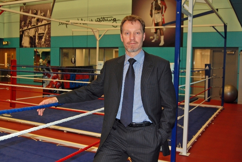 Mark Abberley_by_boxing_ring