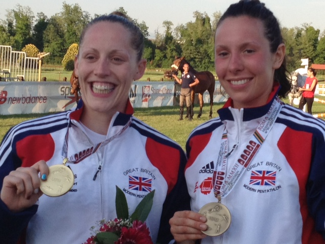 Mhairi Spence_and_Sam_Murray_with_world_championship_medals_Rome_May_12_2012