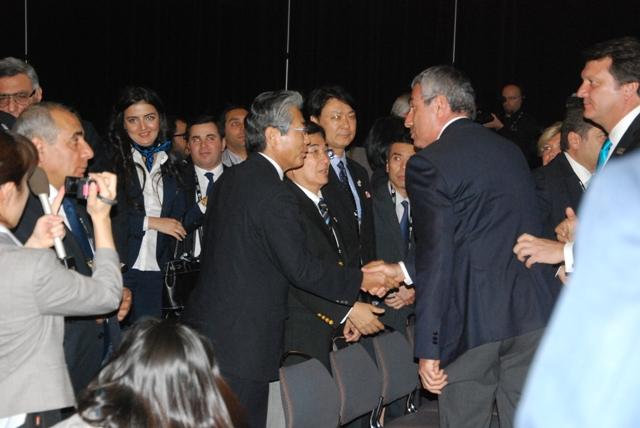 Professor Uur_Erdener__congratulates_Tokyo_2020_after_put_on_shortlist_Quebec_City_May_23_2012