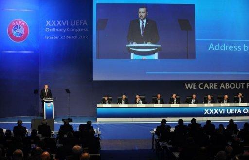 Recep Tayyip_Erdoan_addresses_UEFA_Congress_Istanbul_March_2012