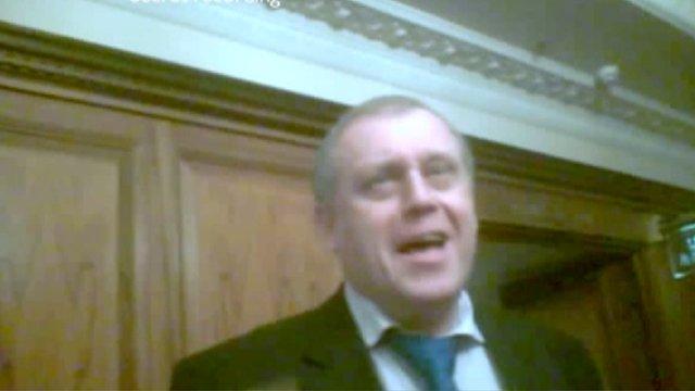 Volodymyr Gerashchenko_in_secret_BBC_filming