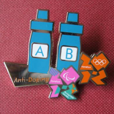 Anti-doping pin