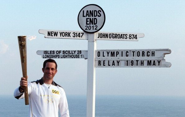 Ben Ainslie_Olympic_gold_medal_sailor_and_the_first_London_2012_torchbearer